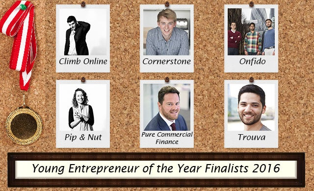 Young Entrepreneur of the Year 2016: Meet the finalists