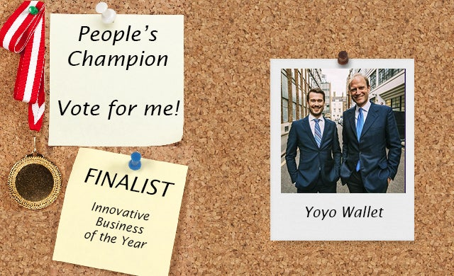 Startups Awards 2016 Yoyo Wallet