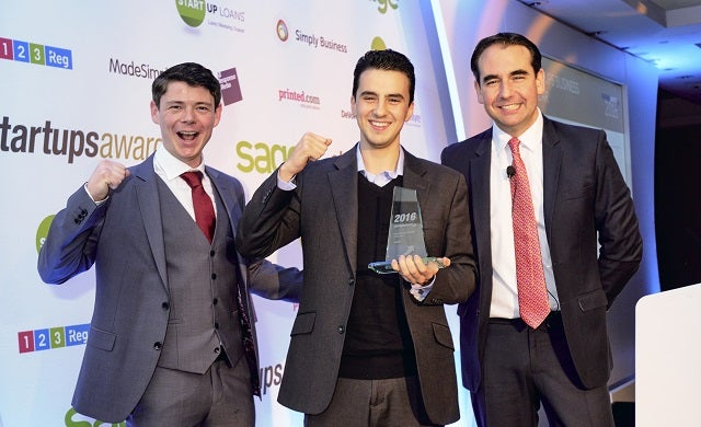 Sage Startups Business of the Year 2016