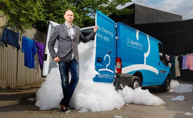 Startups Awards Hall of Fame: Edward Relf, Laundrapp