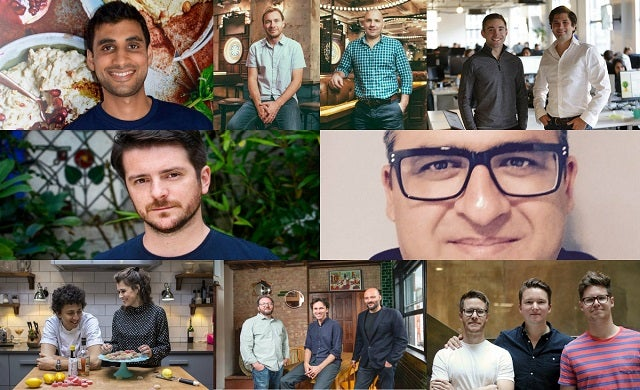 Innovative Business of the Year 2017, Eat First, Flight Club, Habito, Medshr, Smith & Sinclair, Thriva, Spoon Guru