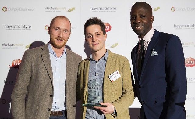 Beer52 founder James Brown Startups Awards
