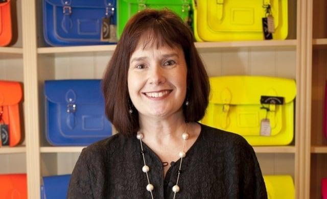 Julie Deane OBE The Cambridge Satchel Company Startups Awards winner