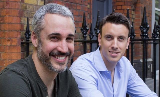Hometree co-founders Simon Phelan and Andreu Tobella