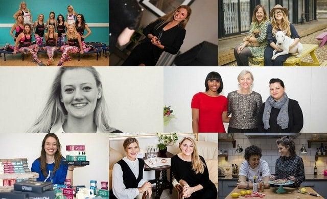Women in Business Award 2017 Meet the finalists, Bounce, Caremark Sutton, Digital Mums, London Grace, Look Fabulous Forever, Mallow & Marsh, Sleek Brows, Smith & Sinclair