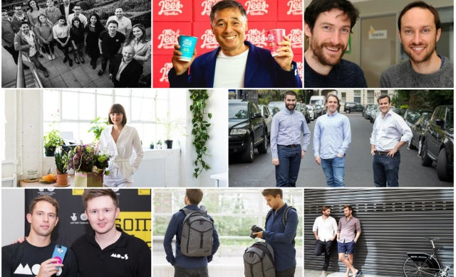 Crowdfunded business of the year 2017 finalists
