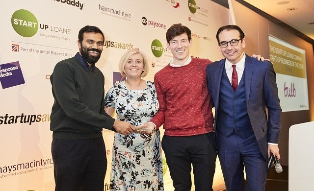 The Start Up Loans Start-Up of the Year Bulb