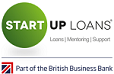 Start Up Loans logo - Startups Awards headline sponsor