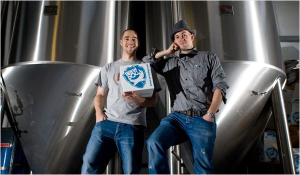 BrewDog: James Watt and Martin Dickie