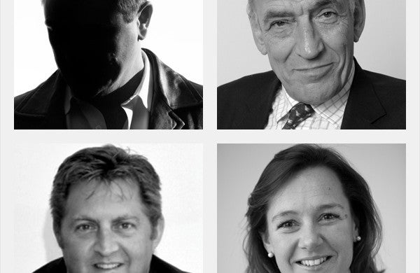 Forceselect: Hugh Andree, Lucy Wood, Andy McNab and General Sir Mike Jackson