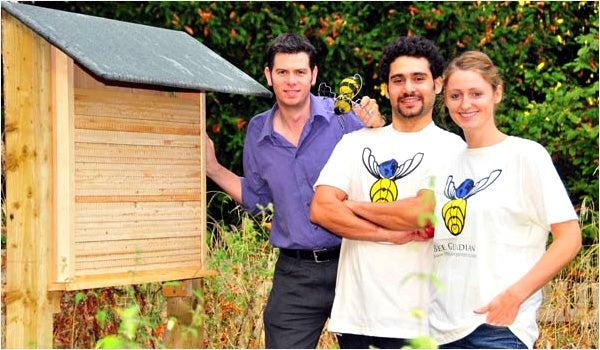 Global Bee Project: Carlo Montesanti, Jessie Jowers and Dr Adam Hart