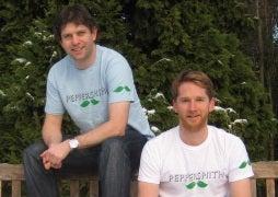 Peppersmith: Dan Shrimpton and Mike Stevens
