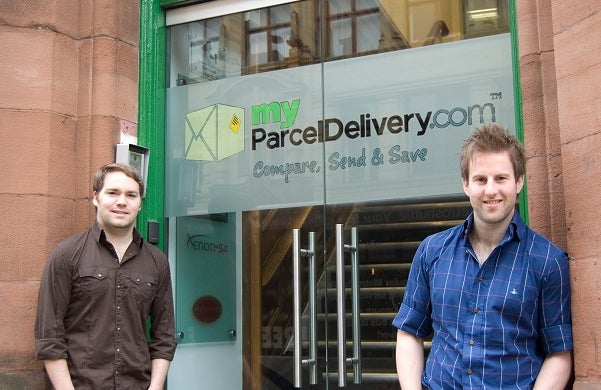myParcelDelivery: David Grimes and Paul Haydock