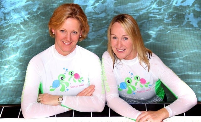 Turtle Tots: Gaby Lixton and Caroline Sparks