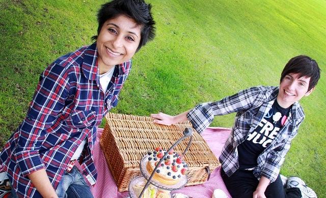 kissmecupcakes: Dalvinder Cheema and Mary Ashman