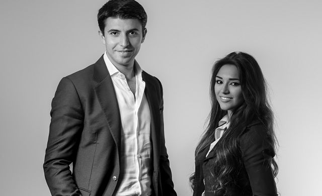 KweekWeek Tina Mashaalahi and Mehdi Nayebi Startups 100 2015