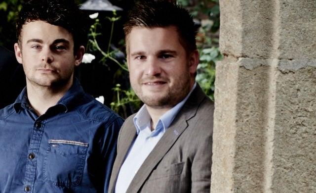 The iOutlet Liam James and Matt Green Startups 100 2015
