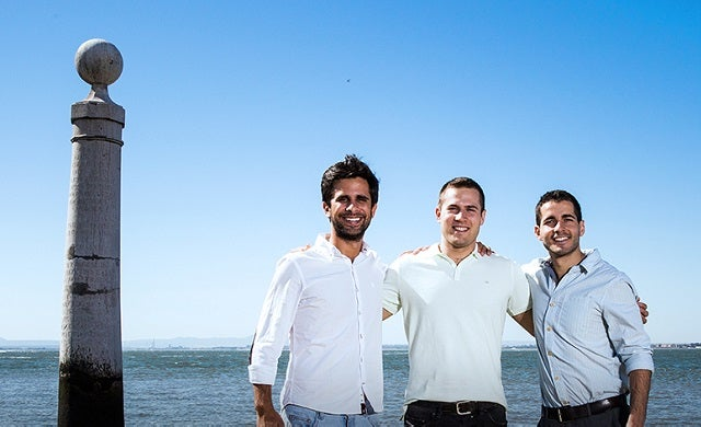Uniplaces Miguel Amaro, Mariano Kostelec and Ben Grech Startups 100 2015