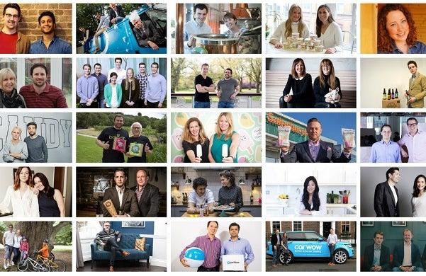 Startups 100 2016 Collage