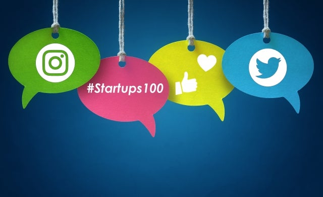 The best reactions of #Startups100 2017