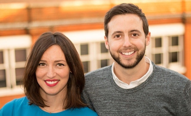 Proptech founders Gemma and Paul Young