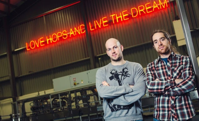 James Watt and Martin Dickie: BrewDog