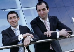 Market Makers: Paul Thomas and Henry Braithwaite (Growing Business Young Guns 2011)