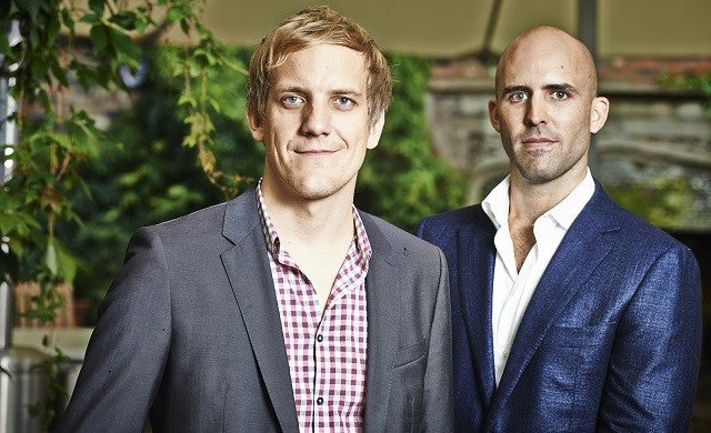 Believe.in: Matthias Metternich and William Cookson (Growing Business Young Guns 2013)