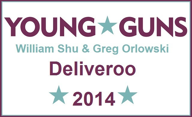 William Shu and Greg Orlowski: Deliveroo
