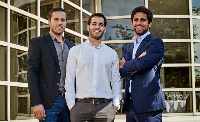 Mariano Kostelec, Miguel Amaro and Ben Grech: Uniplaces