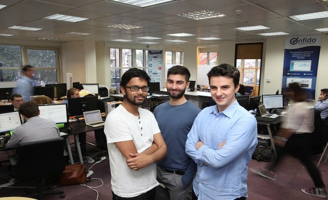 London, United Kingdom - Tuesday 21 October 2014, Onfido - Staff portraits.