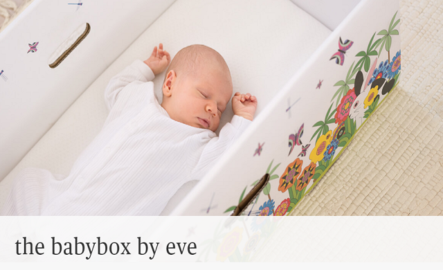 eve Sleep launches Finnish-style baby box in partnership with Mothercare