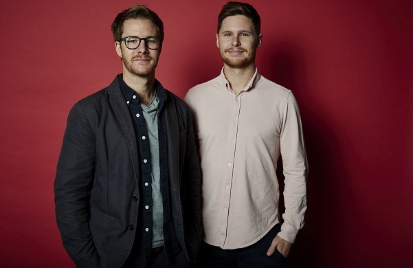 Hamish Grierson and Eliot Brooks of Thriva