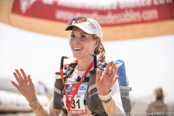 Jessica Hook Marathon Des Sables