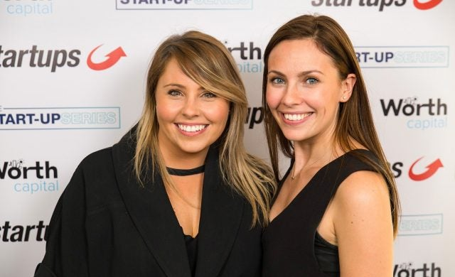 Co-founders of Not Dogs Jane Yates and Katie McDermott