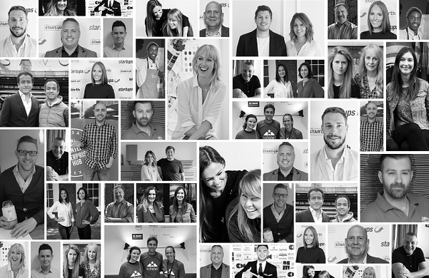 entrepreneur collage